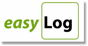 easyLog logo with link to website home page